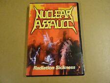 MUSIC DVD / NUCLEAR ASSAULT - RADIATION SICKNESS