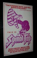 Original THIS IS SPINAL TAP Australian Special Daybill