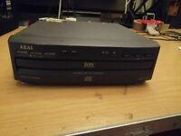 Akai CD-650 Hi-fi cd player 3 disc changer (781)