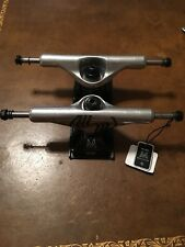 "SILVER M Class Pro 8.5"" Hollow Trucks, Grip, Bearings, Wheels And Hardware Pkg"