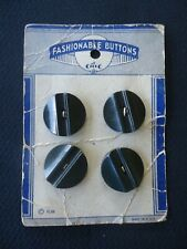 New listing Vintage Le Chic Fashionable Button card antique plastic 1930s or older