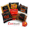 Chilli Wizards Ghost Pepper & Reaper Mixed Snack Collection - 6 Pack