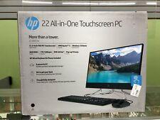 NEW! HP 22-df0023w All In One Touchscreen PC Desktop