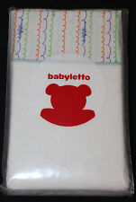Babyletto Alphabets Contour Changing Pad Cover new #835