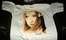 CELINE DION LETS TALK ABOUT LOVE WORLD TOUR CONCERT T SHIRT 1999 SIZE XL UNUSED
