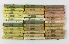 Soft Artists Pastels Talens Rembrandt Lot of 33 Yellows, Ochre, Gold, Lemon