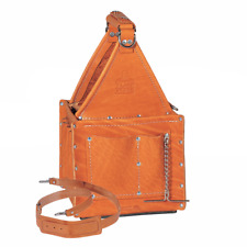 Ideal 35-975 Premium Tuff-Tote Ultimate Leather Tool Carrier (Tan)