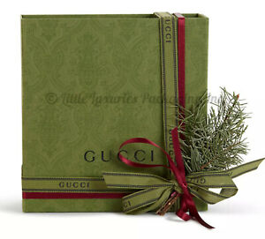 BRAND NEW Authentic Gucci Just Released Belt Storage Box + Dust Bag Gift Set