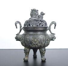 Ancien brûle encens marque apocryphe Xuan De Ming Chine China incense burner