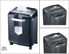 Cross Cut Paper Shredder 18 Sheet 6 Gal Wastebasket Office Supplies Commercial