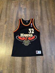Vintage Champion Christian Laettner Atlanta Hawks Jersey