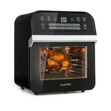 Friteuse à air chaud Cuisson sans huile Mini four 1600W 12L 16 programmes - noir