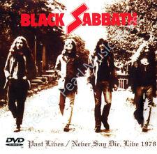 BLACK SABBATH PAST LIVES / NEVER SAY DIE LIVE 1978 2 CD + DVD Ozzy Osbourne new