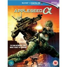Appleseed Alpha Blu-ray 2014 Region 5051124565499 Shinji Aramaki