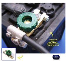 Staccabatteria per moto auto camper barca morsetto on off salva batterie kit in