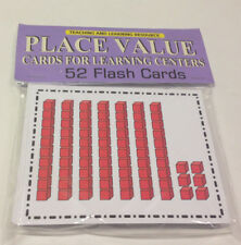 Place Value- Cards for Learning Center 52 Cards- math Teaching supplies