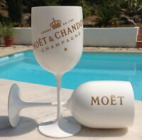 MOET CHANDON ICE IMPERIAL CHAMPAGNE GLASSES X 4  NEW DESIGN 2017