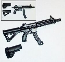 """""""Basic"""" FO6c Compact Assault Rifle -1:18 Scale Weapon for 3-3/4"""" Action Figures"""