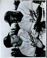Bobby Morgan Brooklyn Dodgers Signed Jsa Sticker 8x10 Photo Authentic Autograph