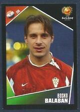 PANINI EURO 2004- #175-CROATIA & CLUB BRUGGE FC-ASTON VILLA-BOSKO BALABAN