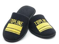 Mens Topline Katz Ballroom Black Slippers One Size SALE!!