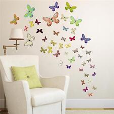 50 grandi colori farfalle adesivi da parete in 7 Taglie per la vostra casa e auto