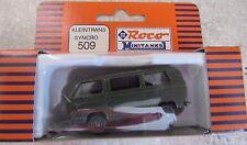 Roco 1/87 Minitanks 509 Kleinstrans Syncro VW MINI BUS ARMY NIP