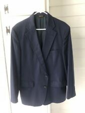 Men's Bloomingdale's suit jacket/blazer, navy, size 42? Very good used condition