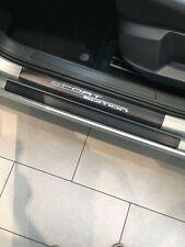 Set Carbon Ladekantenschutz und Einstiegsleisten Skoda Fabia 3 Kombi Carbonfolie