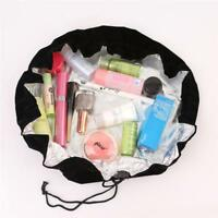 Travel Makeup Cosmetic Toiletry Case Wash Organizer Storage Pouch Drawstring Bag