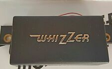 Whizzer Motorbike Battery Cover - Black with Chrome Logo