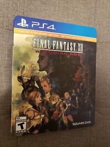 Final Fantasy XII Zodiac Age Steelbook Edition  PS4 PlayStation 4 RPG