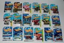 % MATTEL HOT WHEELS DIECAST VEHICLE COLLECTION LOT J-34