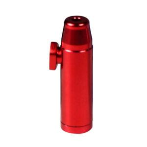 Schnupf-Flasche Schnupf-Tabak-Dosierer-Spender ROT
