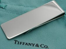 Money Clip in Tiffany Pouch Tiffany & Co. Sterling Silver Classic