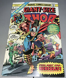 GIANT SIZE THOR #1 Marvel 1975 Annual Hercules