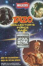 STAR WARS TAZO COLLECTOR PACK +21 TAZOS