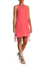 NWT London Times Chiffon Overlay Shift Dress 12 $118