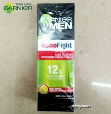 1x20 ml. Garnier Men Face Moisturiser Acno Fight Serum Acne Cream Whitening
