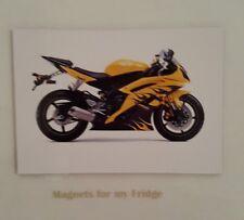 2008 YAMAHA R6 MOTORCYCLE FRIDGE MAGNET - M447