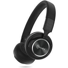 Stereo Over-Head Headphone Extra Bass Black Ultra Light Headset