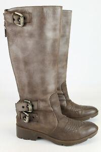 Cinque  Gr.37  Damen Stiefel Stiefeletten Biker Boots Kniehoch TOP   Nr. 526 D