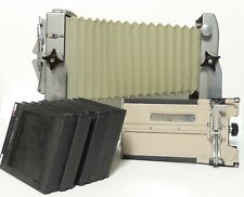 Calumet Cambo 4x5 Camera with Film Holders and Case