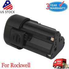 2.0Ah For Rockwell RW9300 12V LithiumTech Battery RW9400 RK2515K2 RK1001K2 US