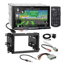 Pioneer Carplay Sirius BT GPS Stereo Dash Kit Harness for Ford Lincoln Mercury