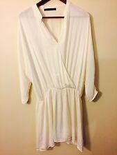 Zara White Dress Size XL