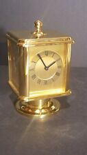 Four Sided Rotating Brass Carriage Clock, unused, batteries not included