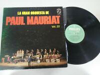 "Paul Mauriat Vol 20 Die Gran orquesta 1972 Philips - LP 12 "" vinyl G VG"