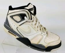 NIKE Air Flight Falcon Men's Basketball Shoes White Pearl Retro Sneakers Sz 7.5