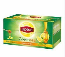 Lemon Flavored 100% Natural & Herbal Fresh Ceylon Green Tea Bags | 25 Sachets